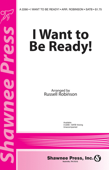 I Want to be Ready!
