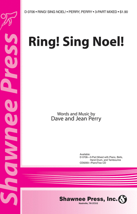 Ring! Sing Noel! 3-part Mixed, Bells, Hand Drum, Tambourine
