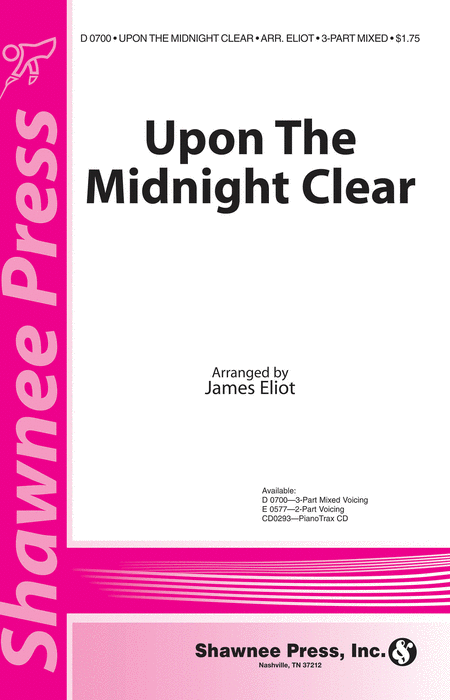 Upon the Midnight Clear 3-part Mixed