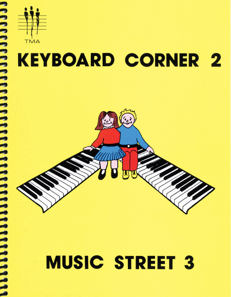 Tritone Keyboard Corner - Book 2-3