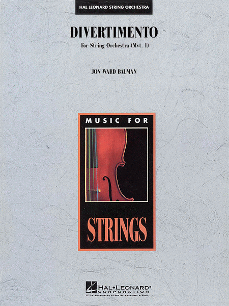 Divertimento for String Orchestra