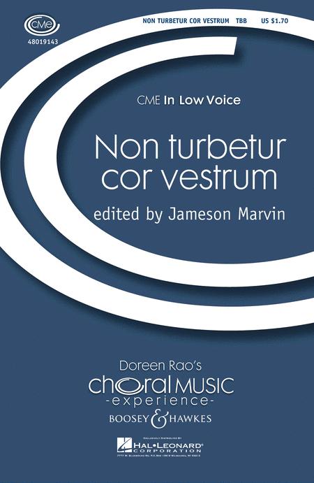 Non Turbetur Cor Vestrum