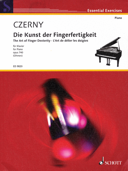 The Art of Finger Dexterity for Piano, Op. 740