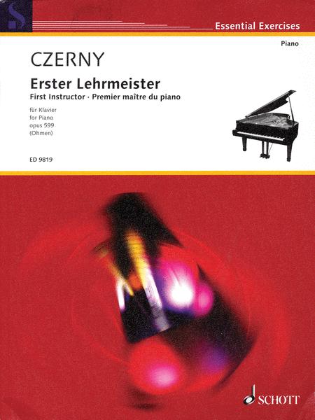 First Instructor (Erster Lehrmeister), Op. 599