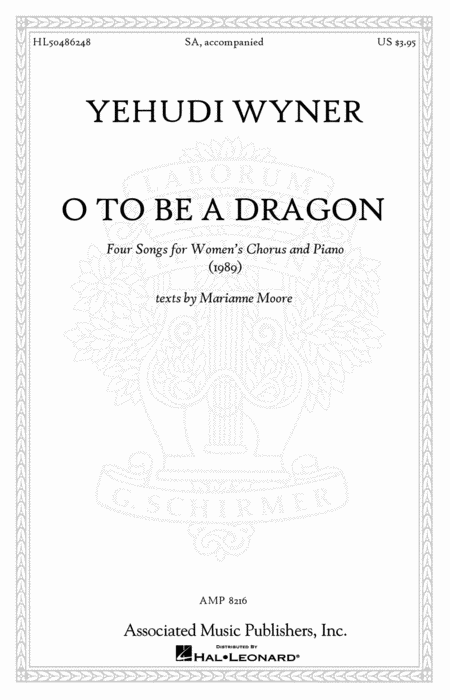 O to Be a Dragon