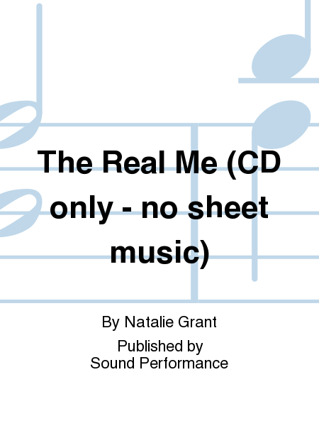 The Real Me (CD only - no sheet music)
