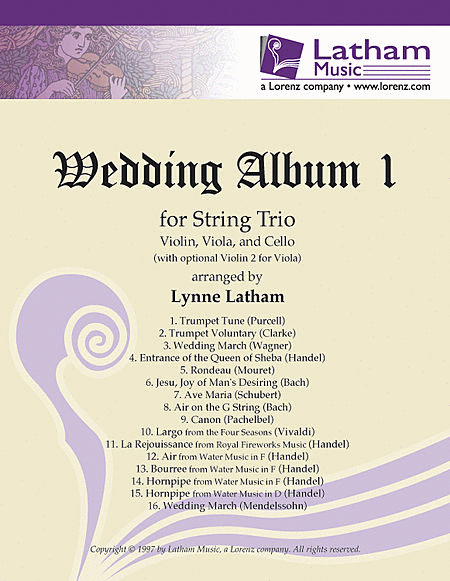 Wedding Album 1 for String Trio