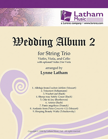 Wedding Album 2 for String Trio
