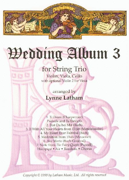 Wedding Album 3 for String Trio