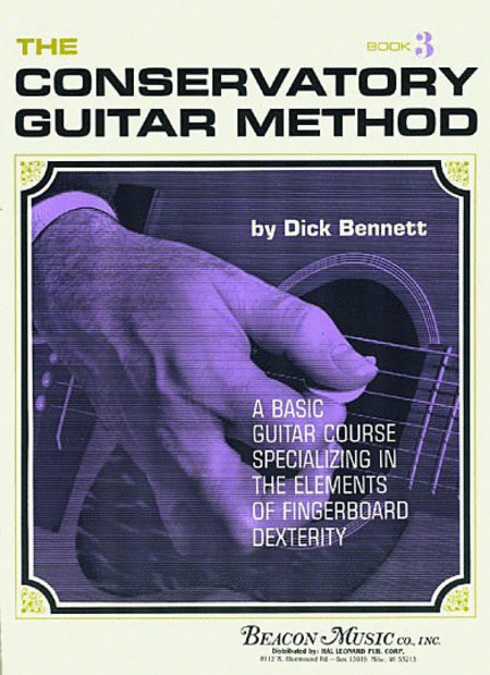 The Conservatory Guitar Method Book 3
