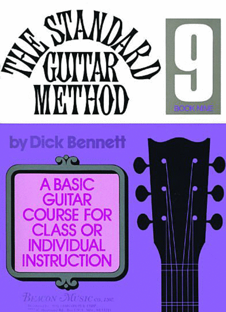 The Standard Guitar Method Book 9