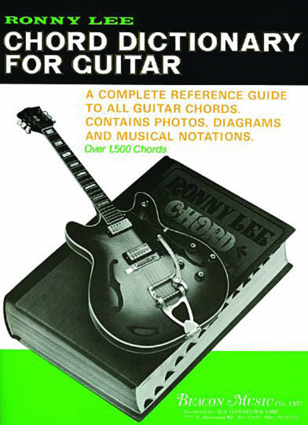 Ronny Lee Chord Dictionary For Guitar