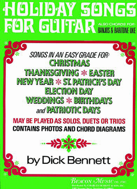 Holiday Songs For Guitar