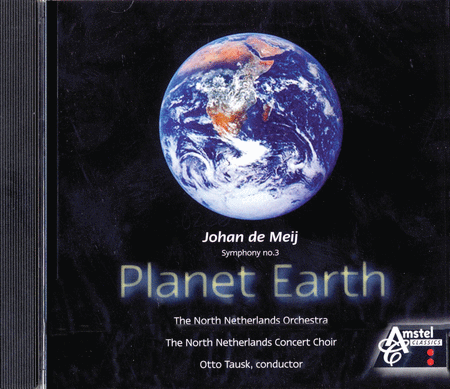 Symphony No. 3 - Planet Earth CD