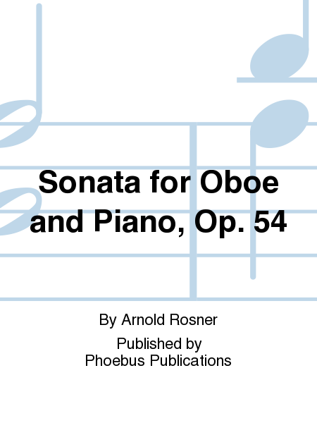Sonata for Oboe and Piano, Op. 54