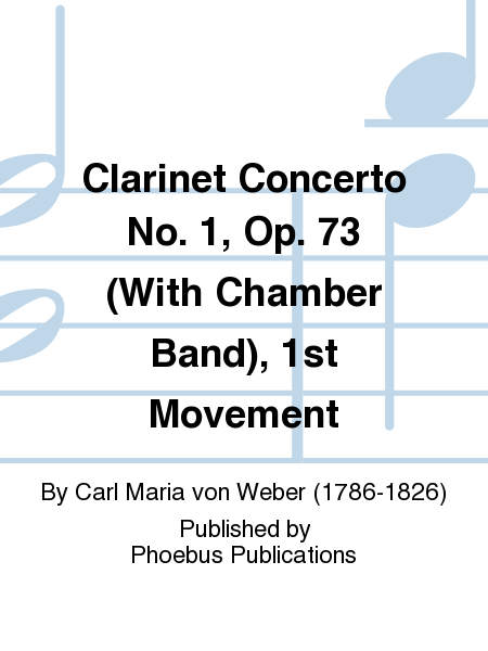Clarinet Concerto No. 1, Op. 73 (With Chamber Band), 1st Movement