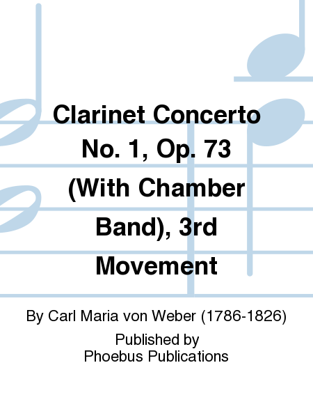 Clarinet Concerto No. 1, Op. 73 (With Chamber Band), 3rd Movement