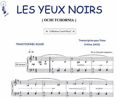 Les Yeux Noirs (Ochi Tchornia)