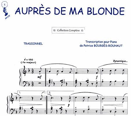 Aupres De Ma Blonde