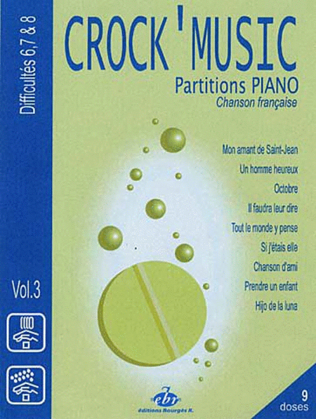 Recueil Crock Music Volume 3 Difficulty 6/7/8