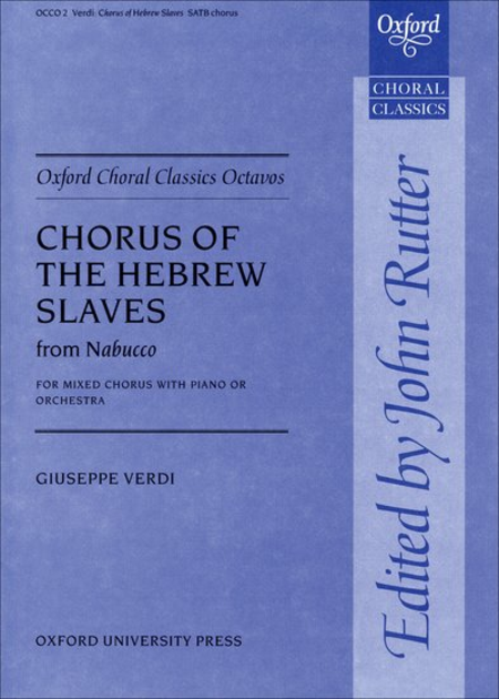 Chorus of the Hebrew Slaves from Nabucco