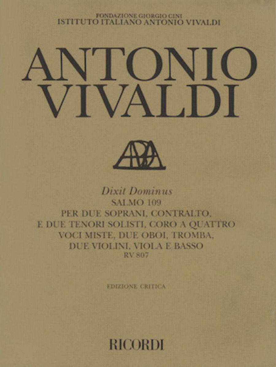 Dixit Dominus (Psalm 109), RV 807