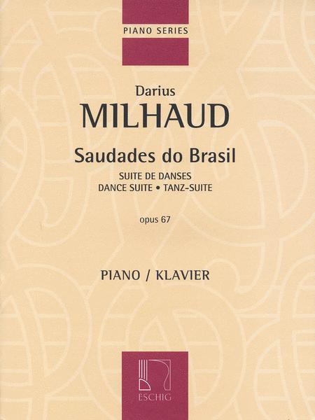 Saudades Do Brasil - Dance Suite Op. 67