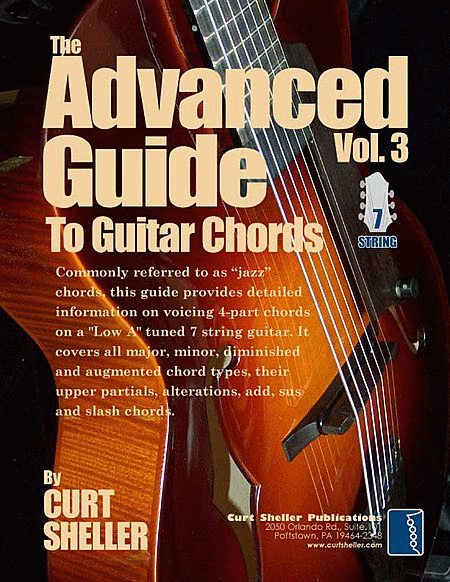 The Advanced Guide to Guitar Chords - Volume 3