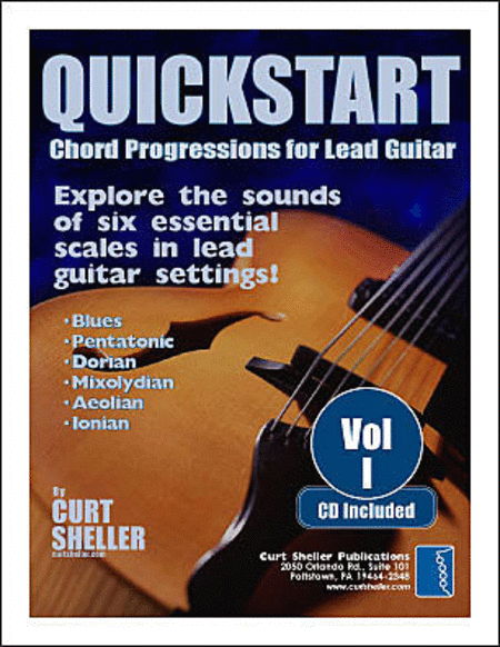 QuickStart - Chord Progressions for Lead Guitar - Volume I (Book & CD)