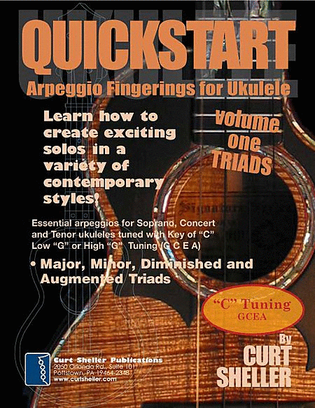 QuickStart Arpeggio Fingerings for Ukulele - Triads