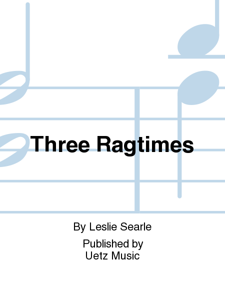 Three Ragtimes