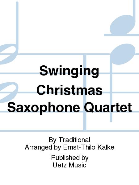 Swinging Christmas Saxophone Quartet