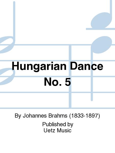 brahms hungarian dance no 5 piano pdf