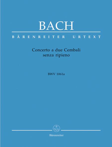 Concerto a due Cembali senza ripieno