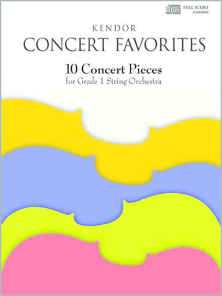 Kendor Concert Favorites (Replacement CD Only)