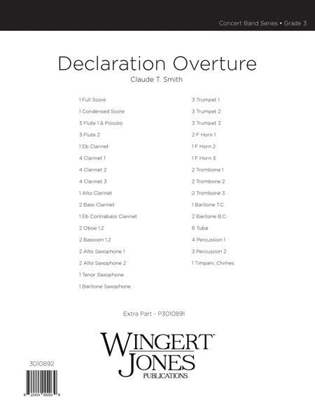 Declaration Overture