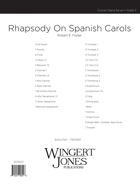 Rhapsody on Spanish Carols