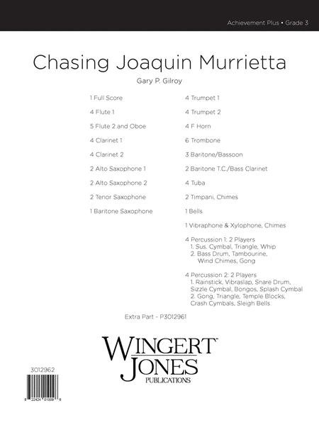 Chasin' Joaquin Murrietta
