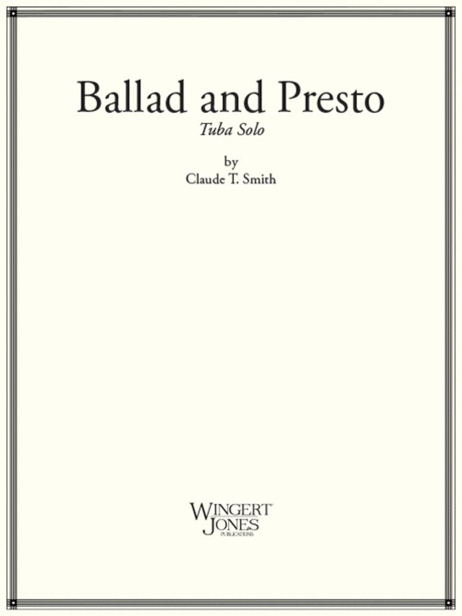 Ballad and Presto Dance