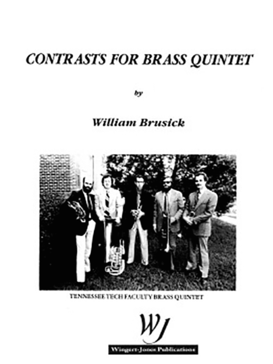 Contrasts for Brass Quintet (P.O.D.)