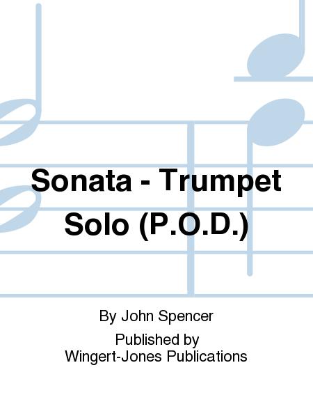 Sonata - Trumpet Solo (P.O.D.)