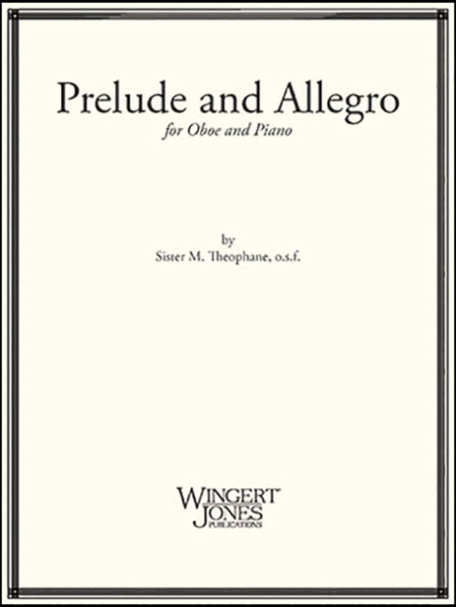 Prelude and Allegro - Oboe Solo (P.O.D.)