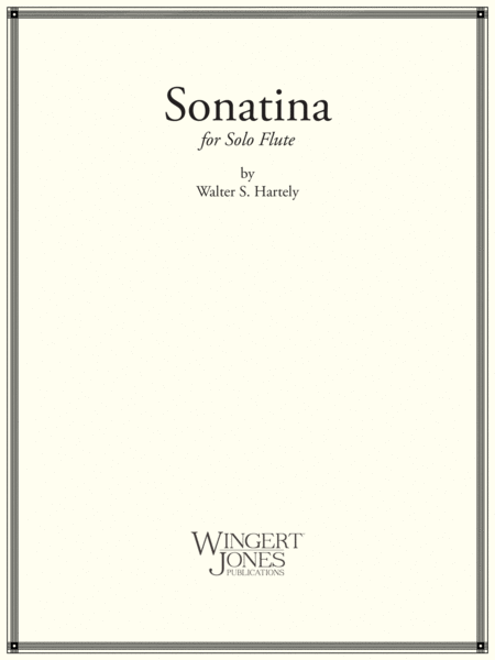 Sonatina - Flute Solo Unaccompanied (P.O.D.)