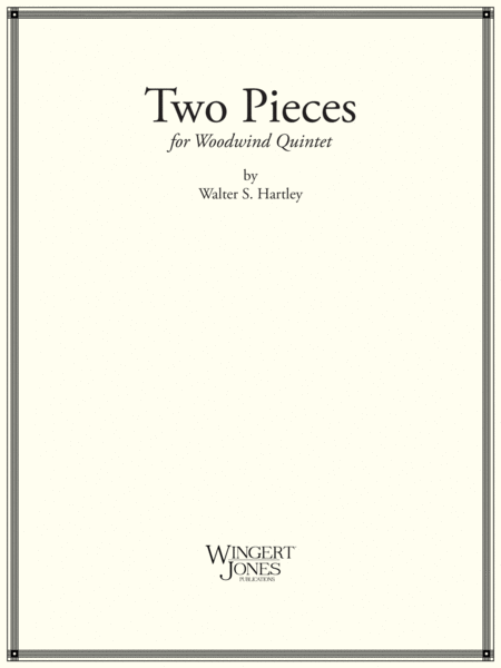 Two Pieces for Woodwind Quintet (P.O.D.)