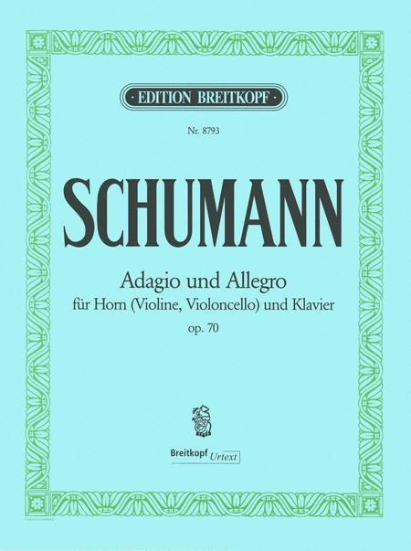 Adagio und Allegro op. 70