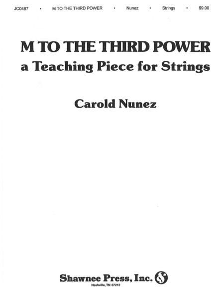 M to the Third Power (Minor Meter Mix)