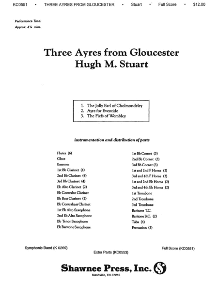 Three Ayres from Gloucester