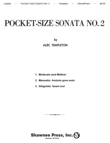 Pocket Size Sonata No. 2