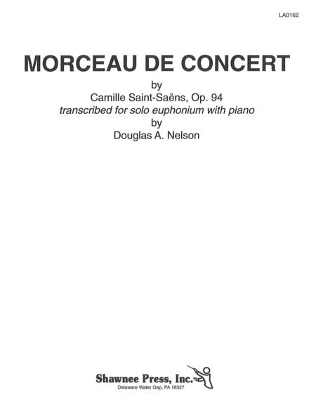 Morceau De Concert Baritone Horn/Piano