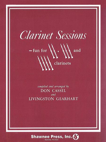 Clarinet Sessions 2-4 Clarinets